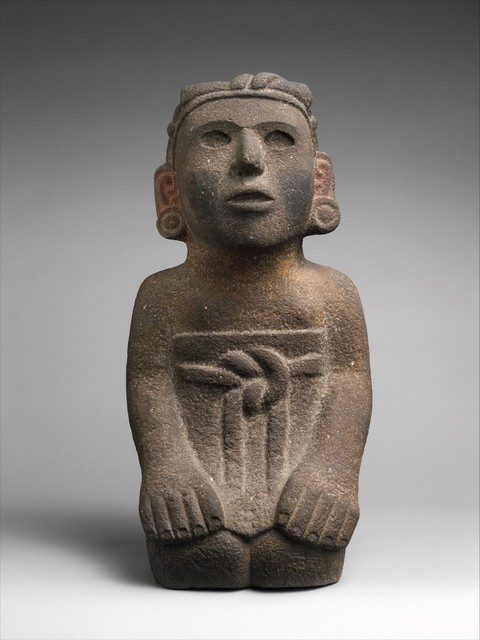 Unknown Aztec, 'Kneeling Female Figure', 15th–early 16th century, The Metropolitan Museum of Art