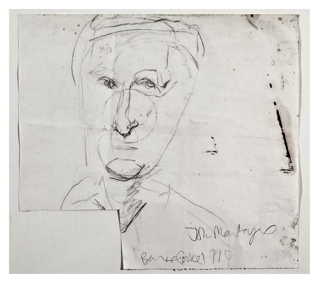 , 'John Montague,' 1990, Oliver Sears Gallery
