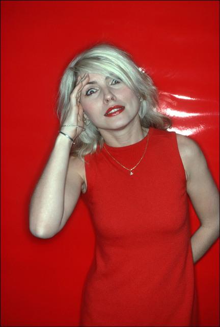 , 'Debbie Harry, Red Salute,' 1978, Madelyn Jordon Fine Art