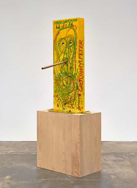 , 'Untitled (Yellow Cosco VII Mask M40.o),' 2016, Gagosian