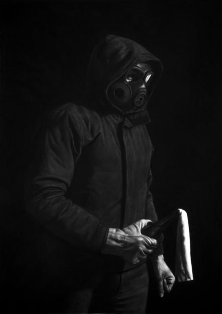 Kepa Garraza, 'Protester V', 2015, Victor Lope Arte Contemporaneo