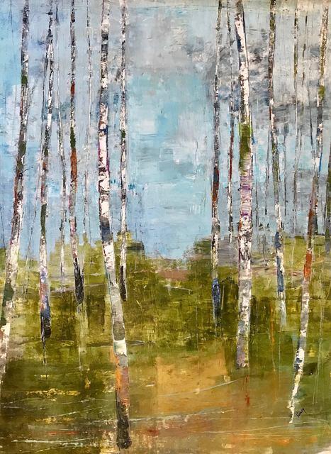 , 'Birch Path,' 2018, Art Post Gallery