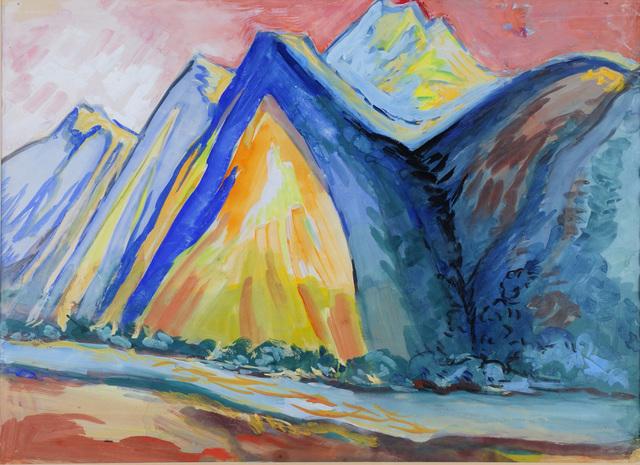 Kirill ZDANEVICH, 'Mountains', ca. 1960s, Baia Gallery