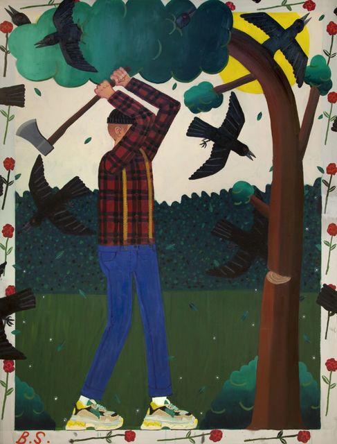 , 'Lumberjack,' 2018, Tim Van Laere Gallery