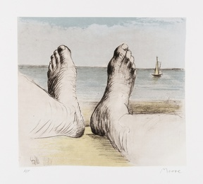 Henry Moore, 'Feet on Holiday I (Cramer 562),' 1979, Forum Auctions: Editions and Works on Paper (March 2017)