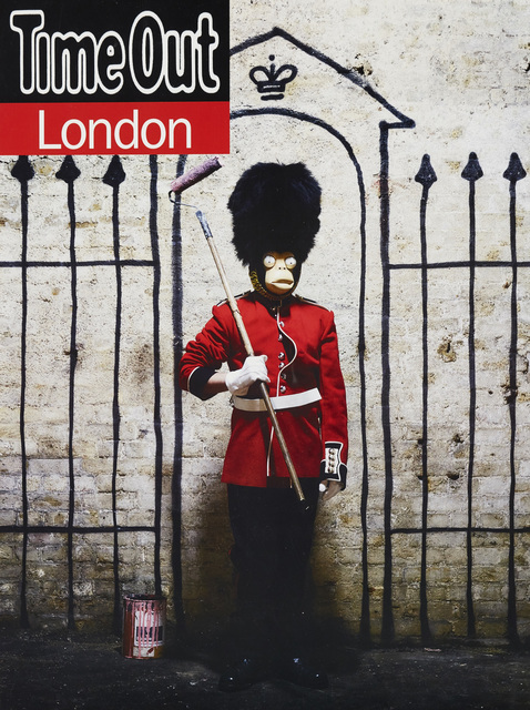 Banksy, 'Time Out London poster', 2010, Roseberys