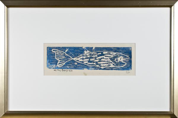 , 'Fish (Blue) A/P,' 1952, David Barnett Gallery