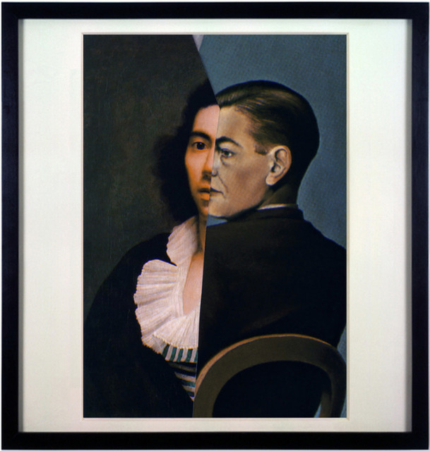 Noé Sendas, 'Girodet vs Magritte', 2007, Photography, Lambda C-Print on Alu-Dibond 3 mm, PRESENÇA