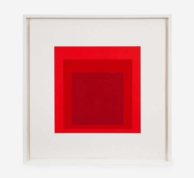 , 'GB@ (Homage to the Square),' 1969, Brooke Alexander, Inc.