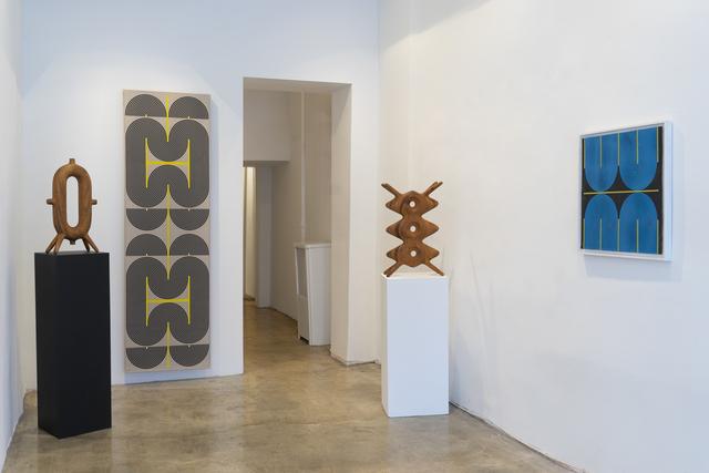Aleph Geddis, 'Portia', 2020, Sculpture, Hand-carved Monkeypod wood, Massey Klein Gallery