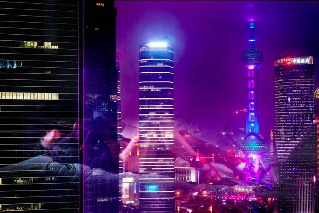 David Drebin, 'Shanghai Nights', Art Angels
