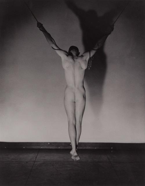 George Platt Lynes, '[Hanging male nude]', 1941, Doyle