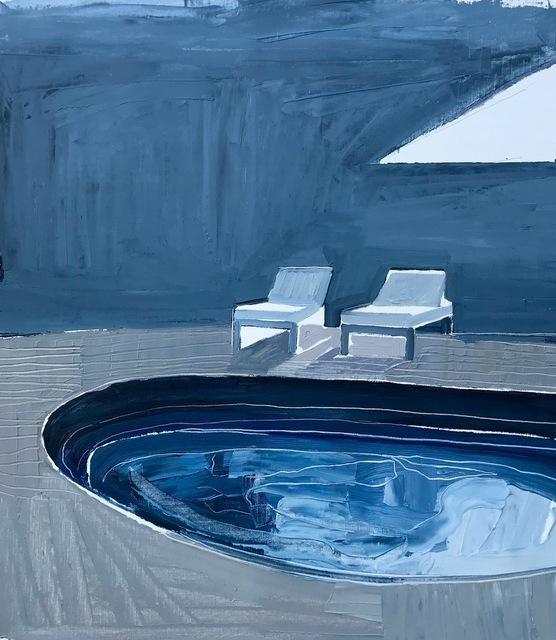, 'Blue Pool,' 2017, Edwina Corlette Gallery