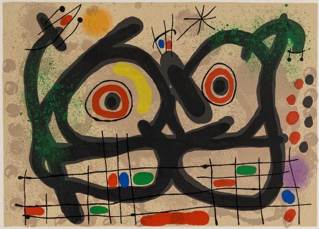 Joan Miró, 'Le Lézard Aux Plumes D'Or (Mourlot 477, 529)', 1967, Forum Auctions
