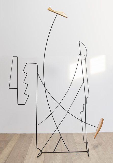 Fitzhugh Karol, 'Wire Landscape Englarged', 2017, Uprise Art