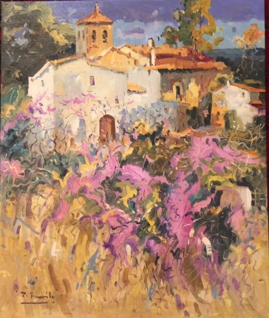 , 'Pueblo de Malaga,' , Cosmopolitan Fine Arts