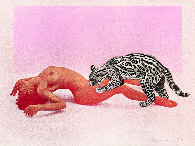 Mel Ramos, 'Ocelot', 1969, Skinner