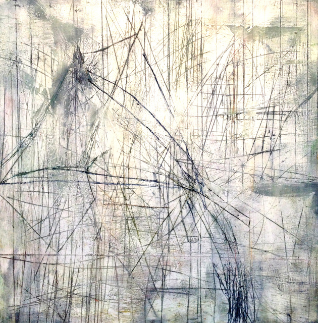 Mark Perlman, 'Drift', ca. 2019, Painting, Encaustic on panel, Stremmel Gallery