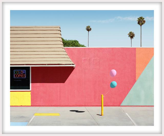 George Byrne, 'Santa Clarita with Neon', 2018, Newzones