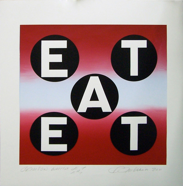 , 'Crimson White EAT ,' 2011, Contini Contemporary
