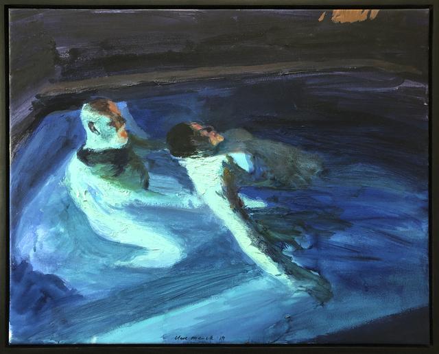 , 'Indigo jacuzzi duo ,' 2019, 99 Loop Gallery