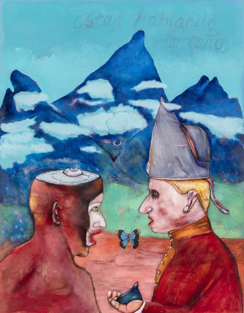 , 'Hulle praat mos nou berg,' 2015, Stevenson
