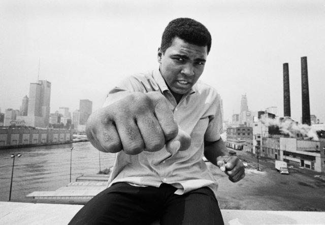 , 'Ali right fist skyline, Chicago,' 1966, Atlas Gallery
