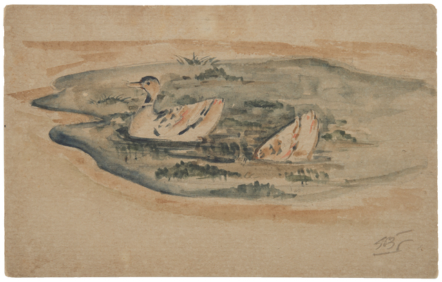 , 'UNTITLED	(Ducks),' ca. 1940, Prinseps