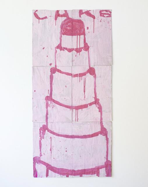Gary Komarin, 'Cake (Hot Pink on Pink)', 2017, Dimmitt Contemporary Art