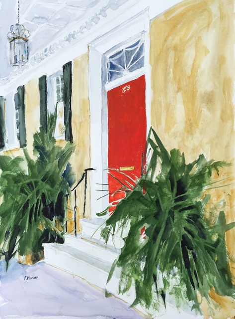 , 'Red Door, Meeting Street,' 2018, Dog & Horse Fine Art