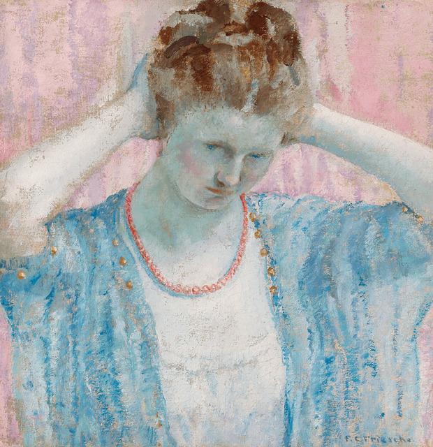 , 'The Coral Necklace,' ca. 1917, M.S. Rau Antiques