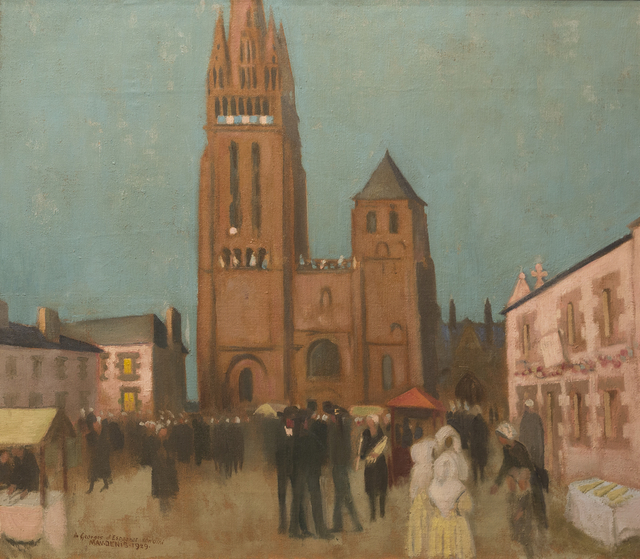 , 'Folgoët Le Soir,' 1929, Taylor   Graham