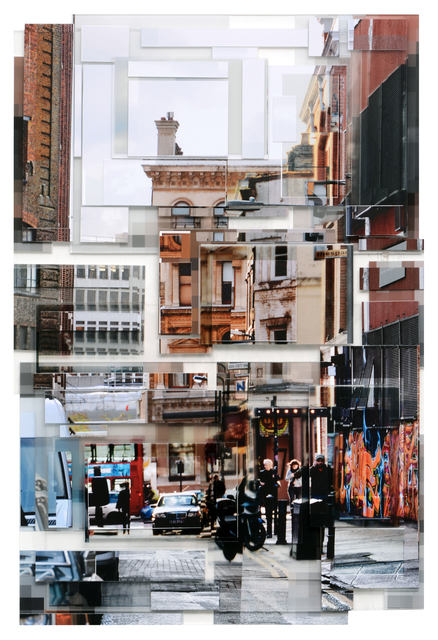 Phil Stein, 'London 021', 2014, Photography, Photography on plexi collage, Abbozzo Gallery
