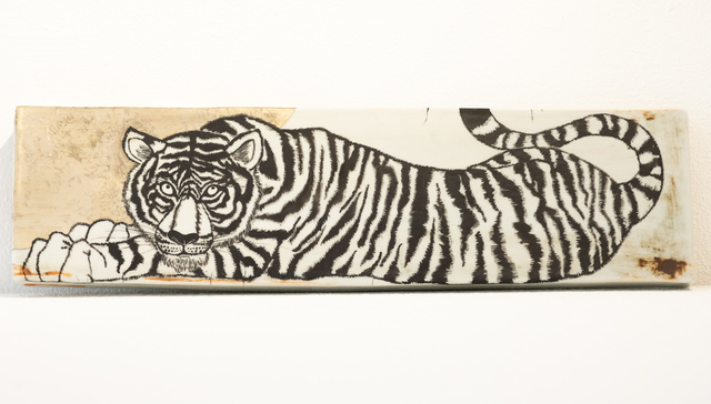 Masako Inoue, 'Plate_Tiger', 2018, Micheko Galerie