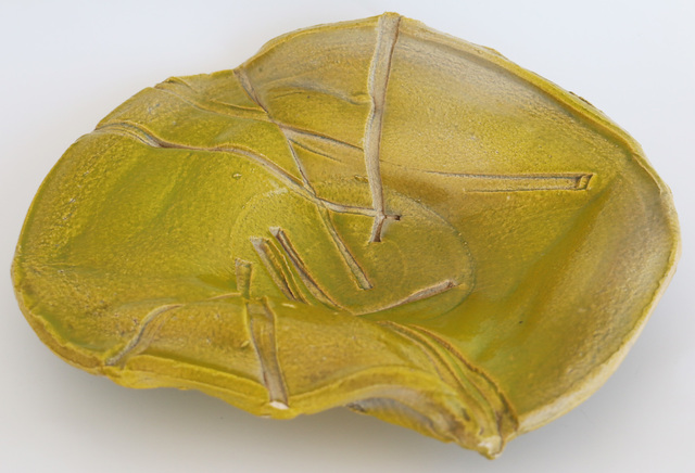, 'Early Chartreuse AB EX Plate,' 1964/65, Jeffrey Spahn Gallery