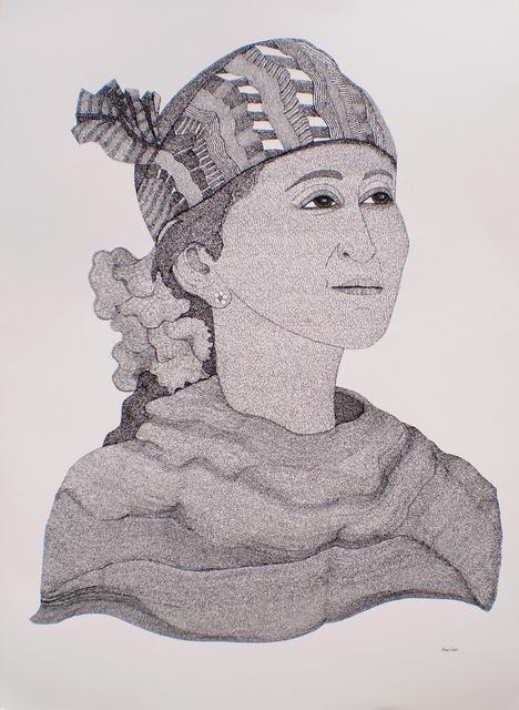 , 'Aung San Suu Kyi,' 2016, Candida Stevens