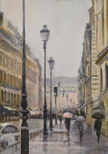 , 'Paris in the Rain,' 2014, Madelyn Jordon Fine Art