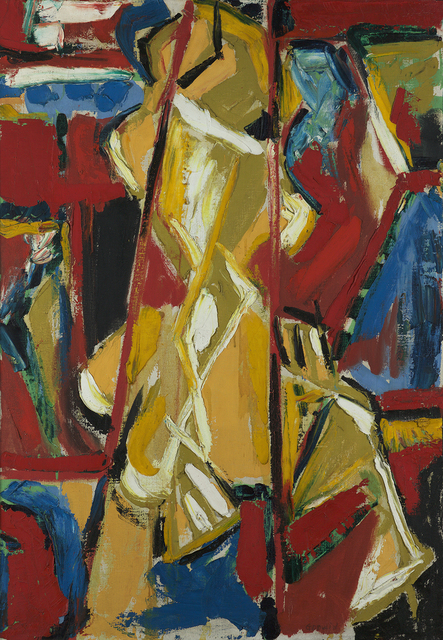 , 'Yellow Figure,' 1953, Berry Campbell Gallery