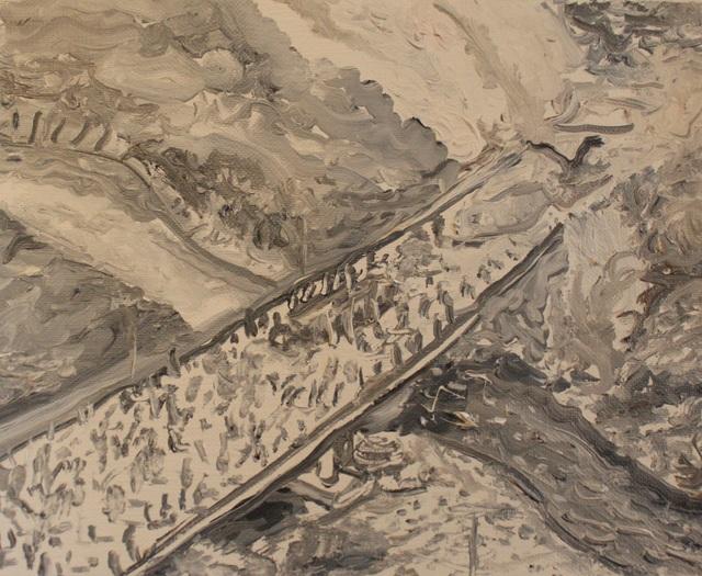 Christian Vinck, 'Puente frontera colombo-venezolana Francisco de Paula Santander en Ureña', 2019, Diablo Rosso