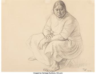 Rosa Sentada