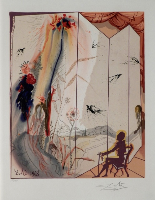 Salvador Dalí, 'The Marquis de Sade Allegory Cecille's Chastity', 1969, Fine Art Acquisitions