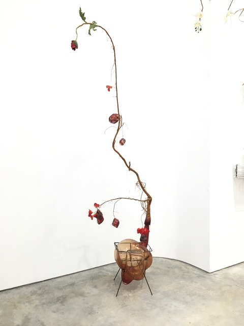 , 'Of Beauty and Decay; or, not (red),' 2018, Malin Gallery