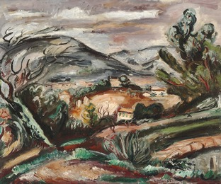 Landscape near Toulon