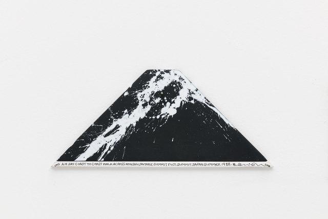 , 'A 19 day coast to coast walk across Honshu. Ontake Summit Fuji Summit. Japan,' 1988, Bergamin & Gomide