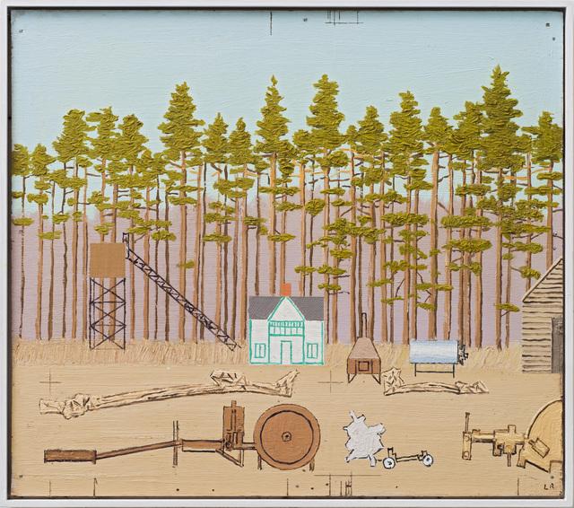 , 'Figurer i sanden ved furuskogen,' 2013, OSL Contemporary