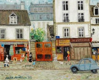 Street scene, Paris
