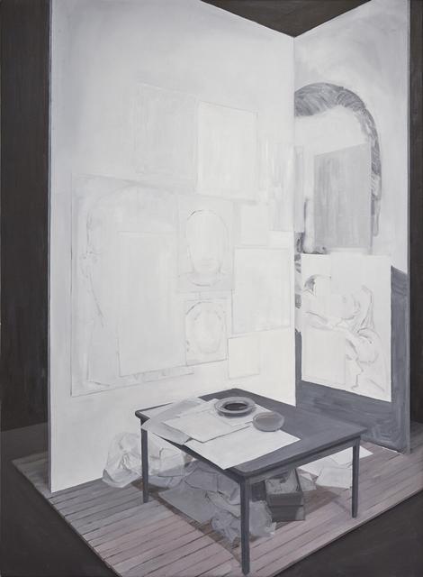 , 'Mesa de trabajo,' 2017, Pasto
