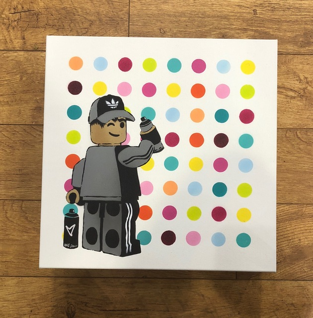 , 'Graff Spot Painter,' 2018, Landmark Street Art