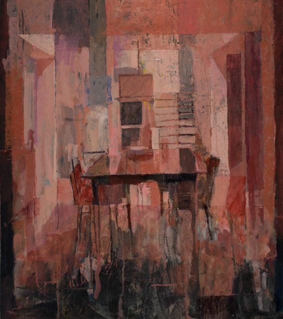 , 'Red Interior,' 2019, Thomas Deans Fine Art