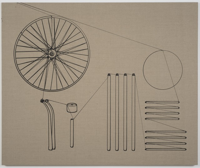 , 'Assembly Instructions (Bicycle Wheel),' 2015, Tanya Bonakdar Gallery